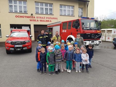 Spotkanie ze strażakami - 27 maja 2021 r.