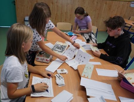 Zajęcia rozwijające z matematyki - projekt unijny ''Lepszy Start''